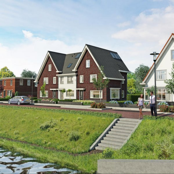 Nieuwbouwproject Mortiere De Jazzboog in Middelburg