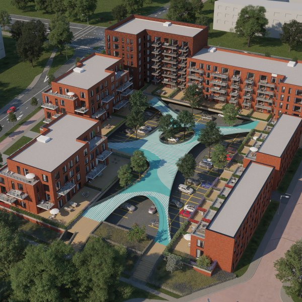 Nieuwbouwproject Rijnfort te Nieuwegein
