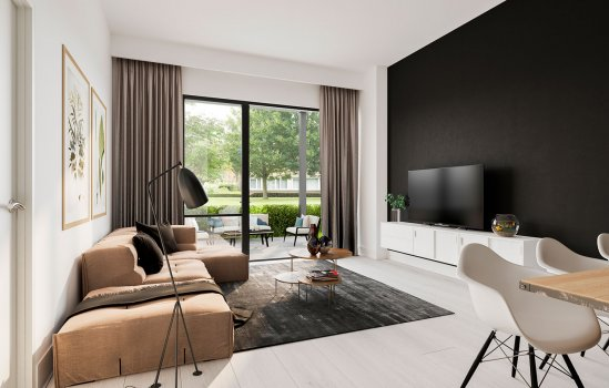 Nieuwbouwproject James Apartments te Nieuwegein