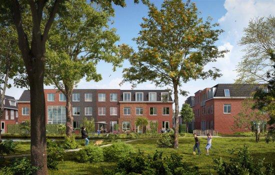 Nieuwbouwproject Hofje bij de Kade te NIEUWEGEIN
