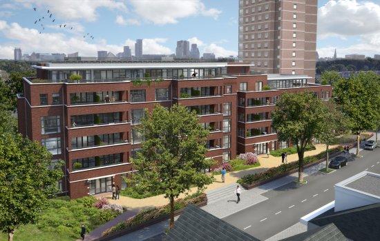 Nieuwbouwproject Het Poortgebouw te Den Haag