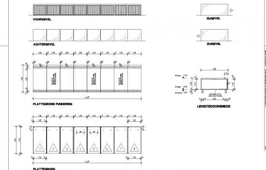 Nieuwbouwproject 9 pluswoningen Hulsmaatstraat te Enschede