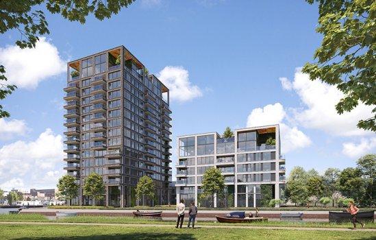 Nieuwbouwproject Binck Kade te Den Haag