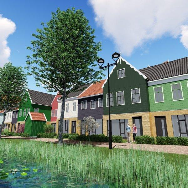 Nieuwbouwproject De Zaag in Zaandam
