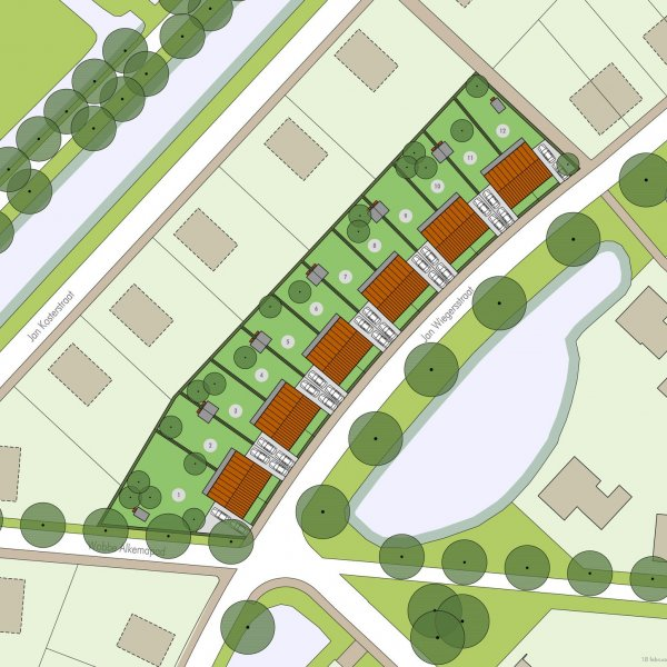Nieuwbouwproject Wiegershoek in Ten Boer
