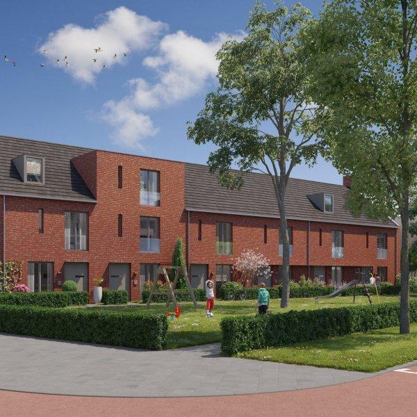 Nieuwbouwproject Rijnvliet Midden fase 4 A in Utrecht