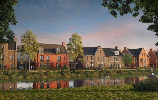 Nieuwbouwproject Rijnvliet Midden fase 4 A te Utrecht