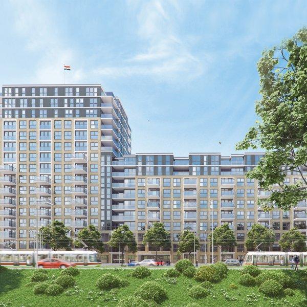 Nieuwbouwproject De President - Huur te Den Haag