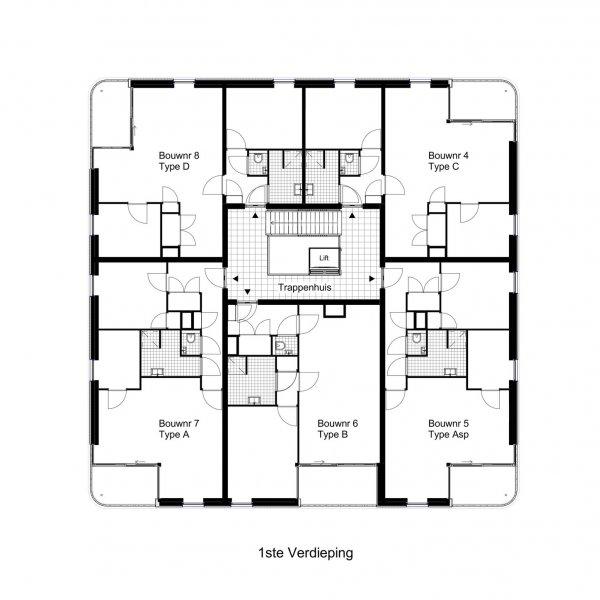 Nieuwbouwproject Camposdreef in Utrecht