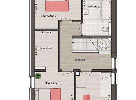 Nieuwbouwproject Meerstad | Tersluis Vlek 17 | Parkvilla 's te Meerstad