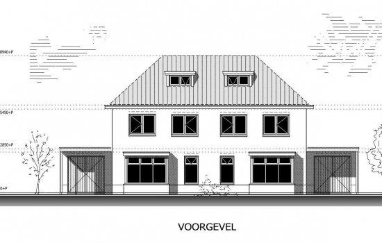 Nieuwbouwproject 8 luxe twee onder een-kap-woningen Helmkruid Vroomshoop te Vroomshoop