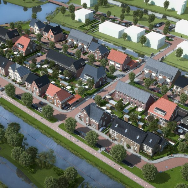 Nieuwbouwproject Waterrijk fase 4a Boskoop in Boskoop