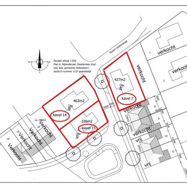 Nieuwbouwproject Daarlerveen-Zuid Gozem Gritterstraat te Daarlerveen