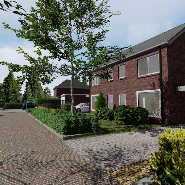 Nieuwbouwproject Siemensstraat - Twee-onder-een-kapwoning te Enschede