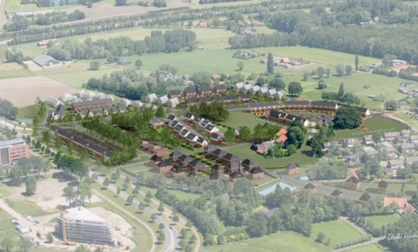 Nieuwbouwproject Medaillon 7 Kavels Adriaen Brouwerstraat te Hengelo