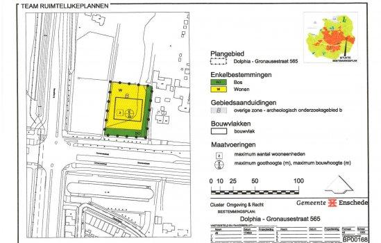 Nieuwbouwproject 2 vrijstaande bouwkavels Gronausestraat te Enschede