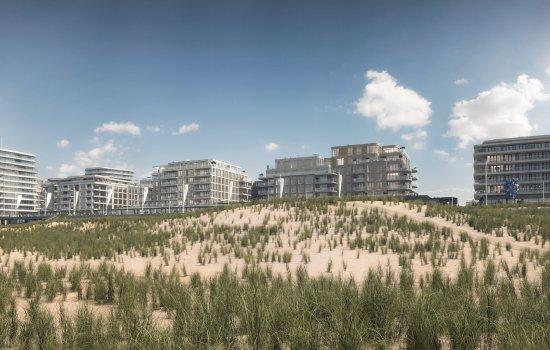 Nieuwbouwproject Nieuw Kijkduin - Poniente, Tramontana en Lombarde (gebouwen) te Den Haag