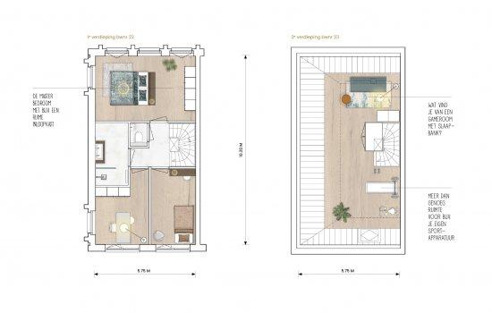 Nieuwbouwproject Cortile 23 Royal, statige herenhuizen in het centrum van Oldenzaal te Oldenzaal