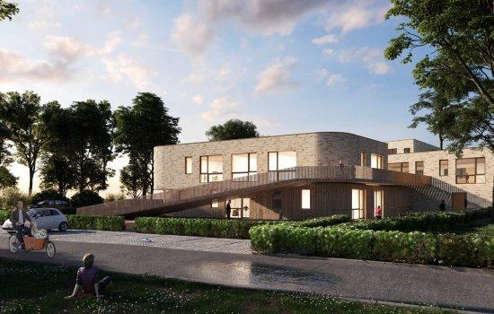 Nieuwbouwproject Rijnvliet fase 5 te Utrecht