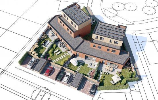 Nieuwbouwproject Akkerbergplein te Zwolle
