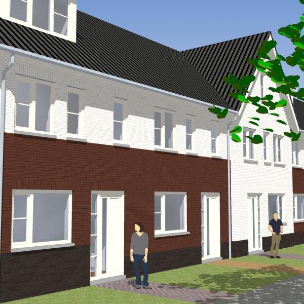 Nieuwbouwproject 7 woningen De Cirkel in Hardenberg