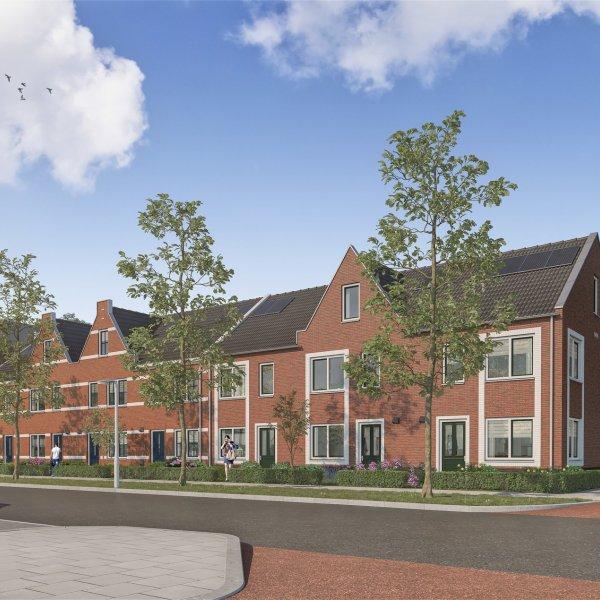 Nieuwbouwproject De Kleine Hortus fase 3 in Groningen