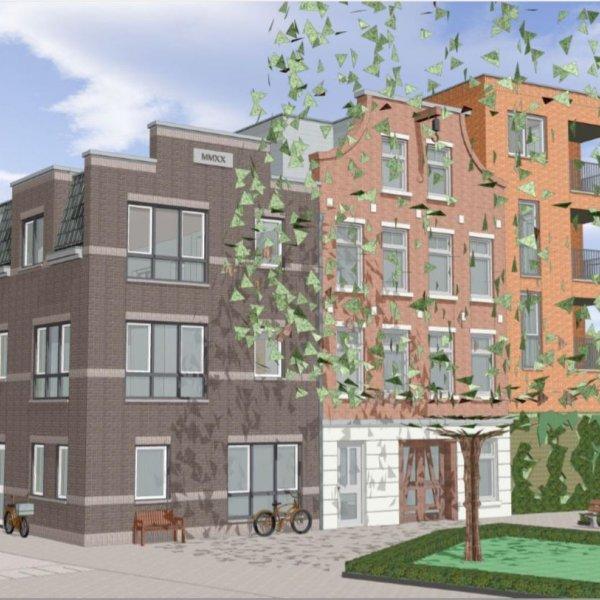 Nieuwbouwproject Kop van Zijltje te Zwolle