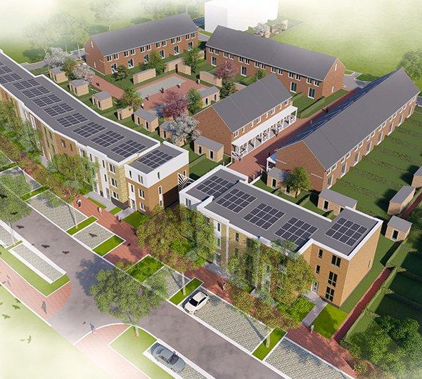 Nieuwbouwproject Parkrijk - De Wilgen te Rijswijk
