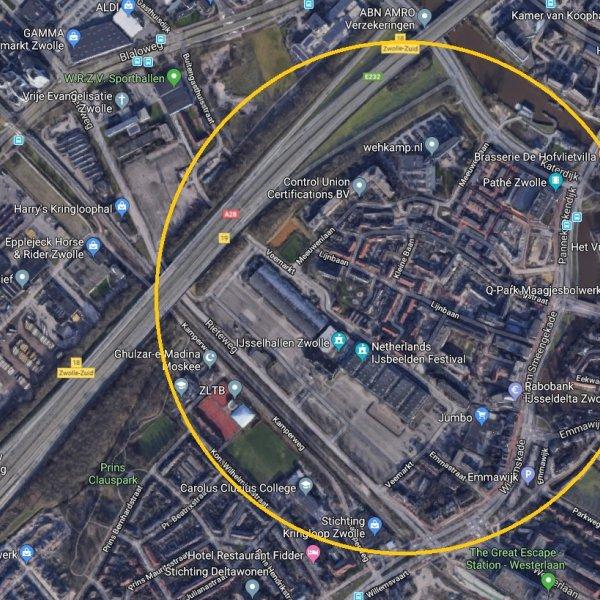 Nieuwbouwproject Kamperpoort te Zwolle