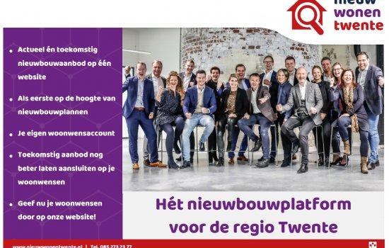 Nieuwbouwproject Lasonderdriehoek 7 huurwoningen te Enschede