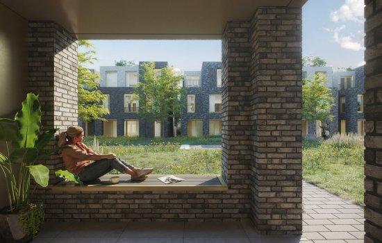 Nieuwbouwproject Jannink Courtyard te Enschede