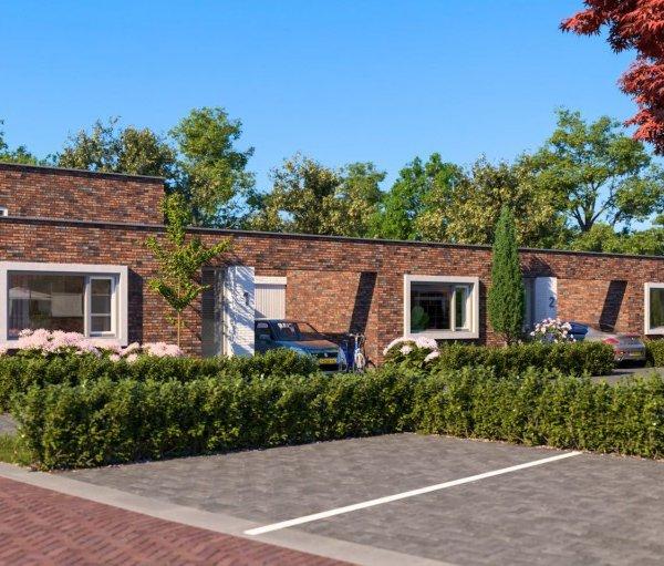 Nieuwbouwproject Medaillon 6 Patiowoningen te Hengelo