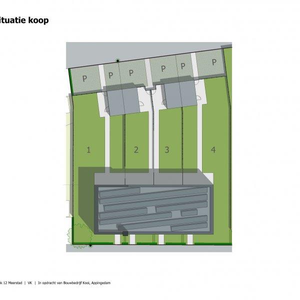 Nieuwbouwproject Het Verlaat - Meerstad in Meerstad