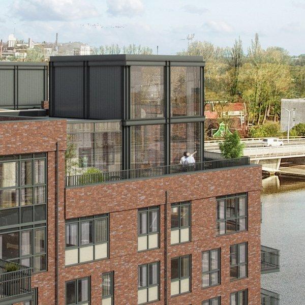 Nieuwbouwproject De Industrieel, uniek wonen aan de Zaan! in Zaandam