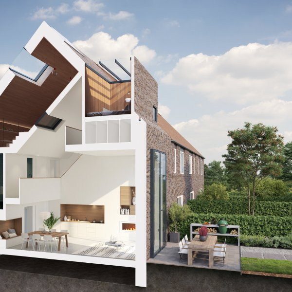 Nieuwbouwproject Het funda Huis in Nog niet bekend