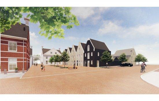 Nieuwbouwproject Havenkwartier fase 4 te Blauwestad