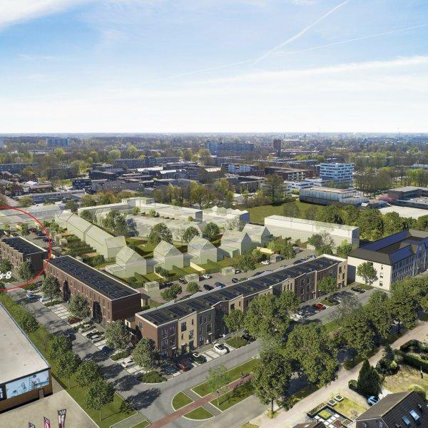 Nieuwbouwproject Johannes Aupingkwartier blok 7 en 8 te Deventer