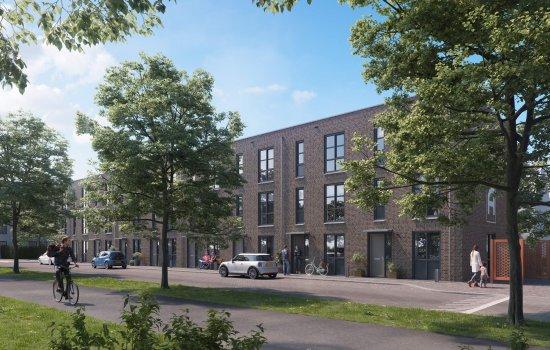 Nieuwbouwproject Johannes Aupingkwartier blok 1, 2, 13 te Deventer