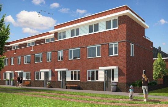 Nieuwbouwproject Antoniuskwartier fase 2 te Utrecht
