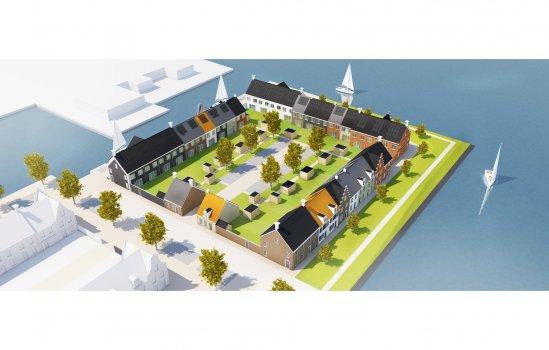 Nieuwbouwproject Havenkwartier te Blauwestad