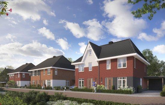 Nieuwbouwproject De Laares - De Nieuwe Es, fase 2 te Enschede