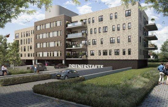 Nieuwbouwproject Drienerstaete te Hengelo