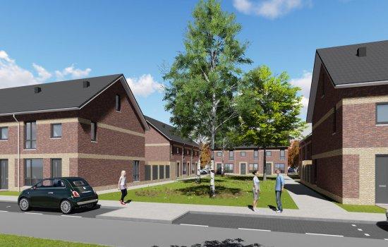 Nieuwbouwproject Park de Weer - Fase 2 te Zaandam