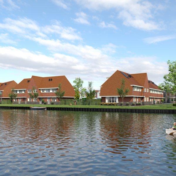 Nieuwbouwproject Thuis aan de Zaan in Zaandam