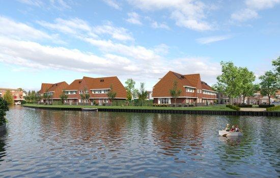 Nieuwbouwproject Thuis aan de Zaan te Zaandam
