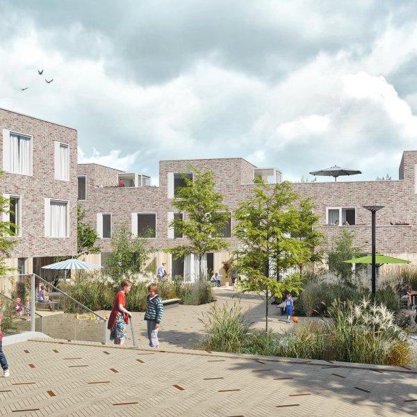 Nieuwbouwproject Lunettenhof in Groningen
