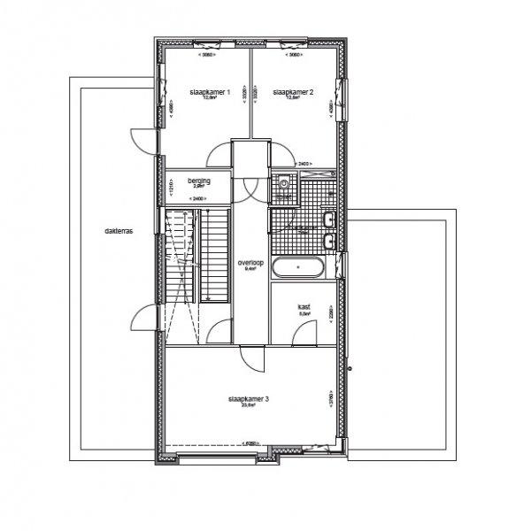 Nieuwbouwproject Le Corbusier - Ter Borch (vrijstaande villa's) in Eelderwolde
