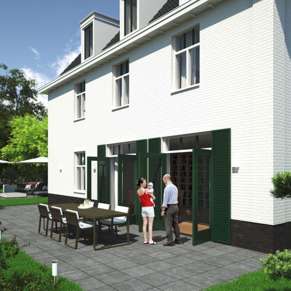 Nieuwbouwproject Helpermaar | 1 Parkvilla in Groningen