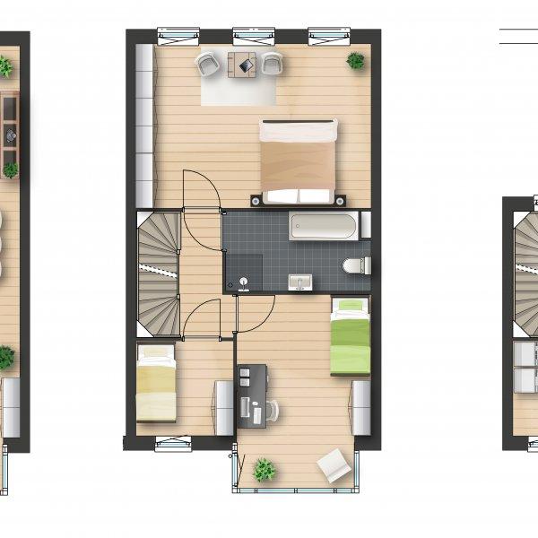 Nieuwbouwproject Helpermaar | Singelwoningen fase 3 in Groningen