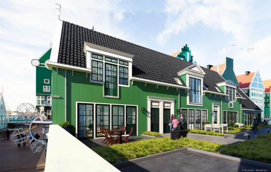 Nieuwbouwproject Romanov te Zaandam